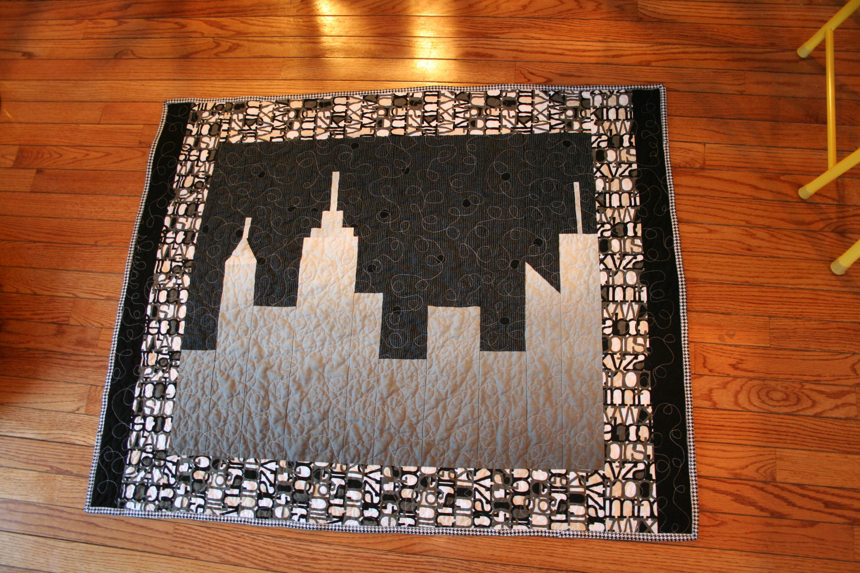 Skylar's skyline quilt | Melanie Tuazon : quilt nyc - Adamdwight.com