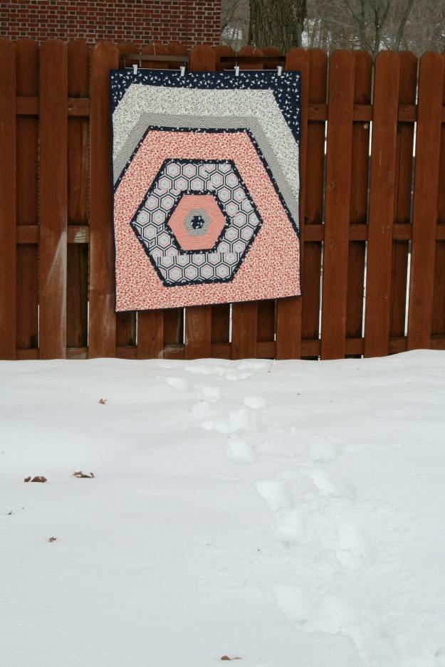 The Hexacabin quilt