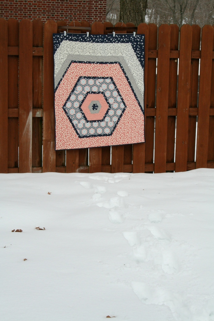 The Hexacabin quilt