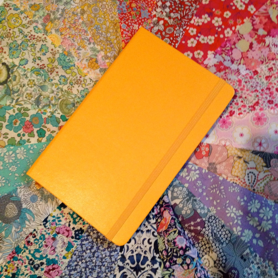 New yellow Moleskine!