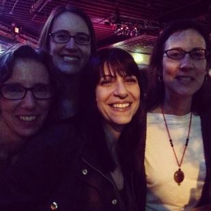 The honky tonk girls - Beth, Melissa, Daniela and Michelle
