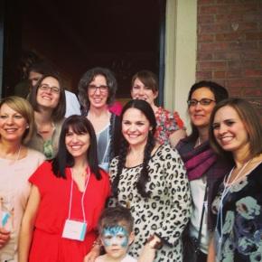 The NJMQG girls with Anna Maria