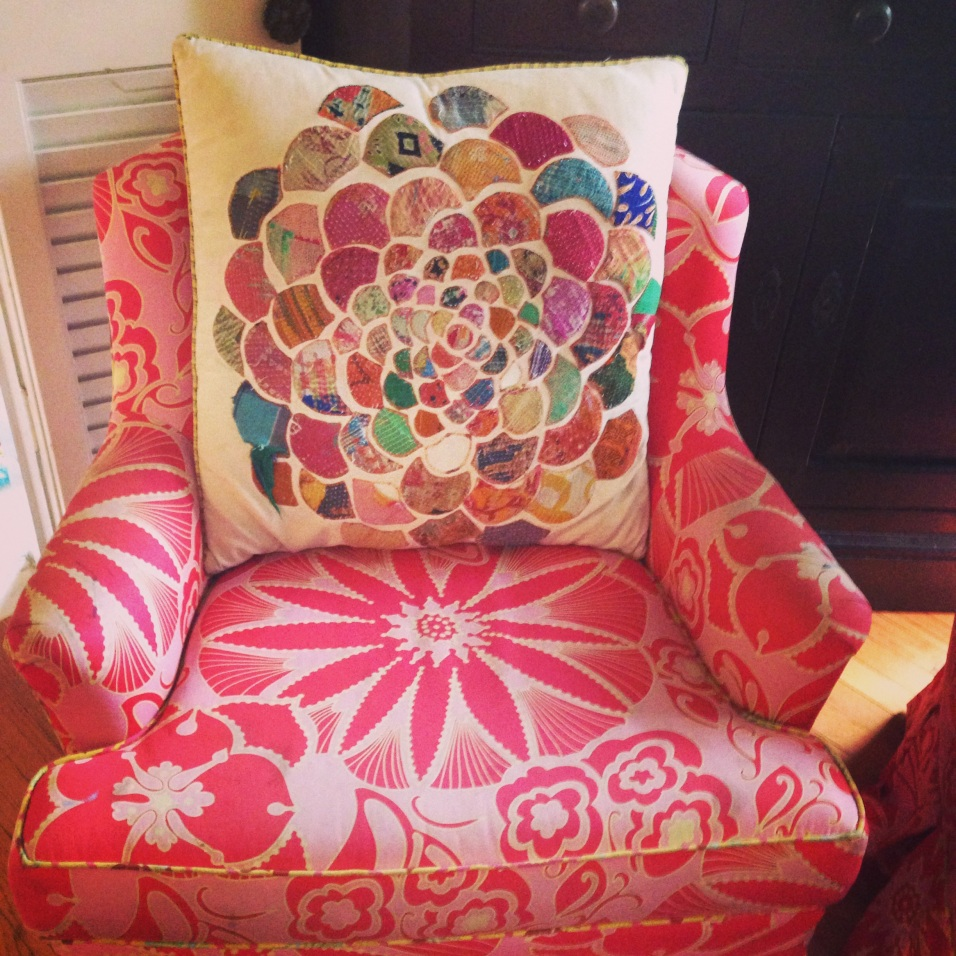 In love with this pillow and chair