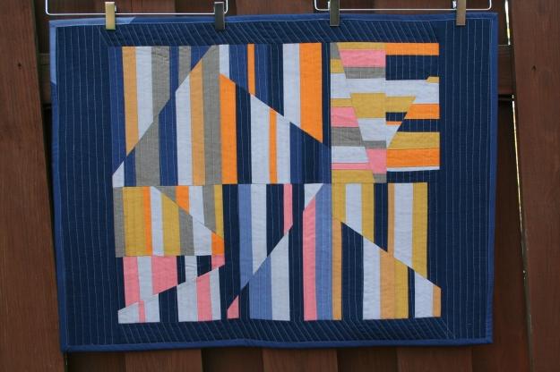 Aerial Quilt - Design by Carolyn Friedlander