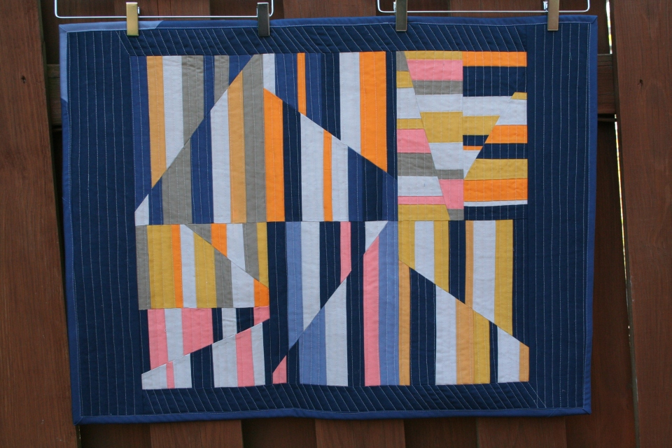 Aerial Quilt - Design by Carolyn Friedlander