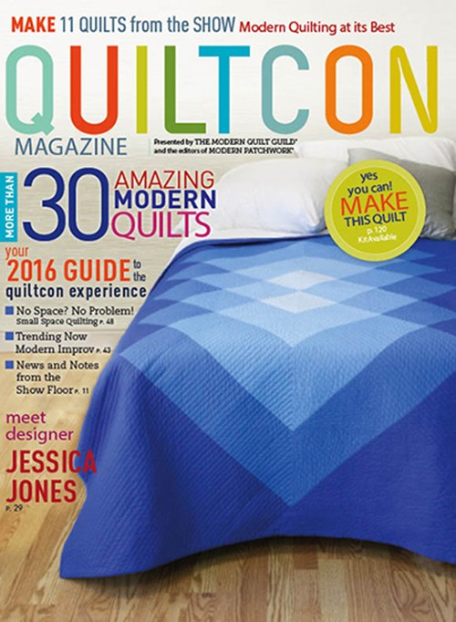 Quiltcon mag cover 2016